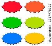 set of speech bubble templates  ...   Shutterstock .eps vector #1317978122