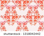 traditional chinese seamless... | Shutterstock .eps vector #1318042442