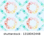 traditional chinese seamless... | Shutterstock .eps vector #1318042448