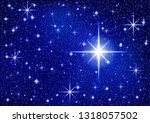 starry sparkle vector... | Shutterstock .eps vector #1318057502