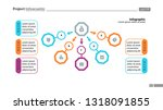 five step process chart slide... | Shutterstock .eps vector #1318091855