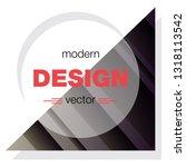 minimalistic design  creative... | Shutterstock .eps vector #1318113542