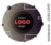 minimalistic design  creative... | Shutterstock .eps vector #1318113545