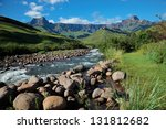 Amphitheater And Tugela River ...