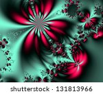 Abstract Fractal Background Fo...