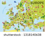 Funny Cartoon Map Of Europe...