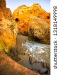 famous beaches  cliffs and the... | Shutterstock . vector #1318149998