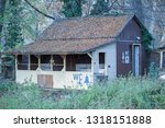 neglected campsite public...   Shutterstock . vector #1318151888