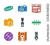 9 detail icons. trendy detail... | Shutterstock .eps vector #1318156832