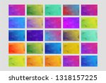 a huge collection of abstract... | Shutterstock .eps vector #1318157225