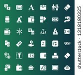 change icon set. collection of... | Shutterstock .eps vector #1318180325