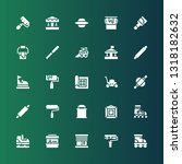 roller icon set. collection of... | Shutterstock .eps vector #1318182632