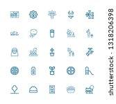 editable 25 tree icons for web... | Shutterstock .eps vector #1318206398