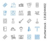 household icons set. collection ... | Shutterstock .eps vector #1318244402