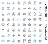 mechanic icons set. collection... | Shutterstock .eps vector #1318248035