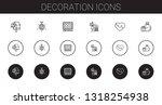 Decoration Icons Set....