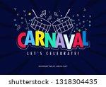 popular event in brazil.... | Shutterstock .eps vector #1318304435