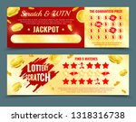 two different design versions... | Shutterstock .eps vector #1318316738
