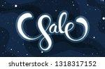 spring sale promotion... | Shutterstock .eps vector #1318317152
