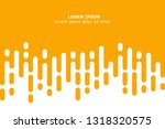 abstract yellow rounded lines... | Shutterstock .eps vector #1318320575