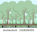 holiday people can travel at...   Shutterstock . vector #1318336355
