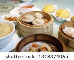 delicious cantonese dim sum on... | Shutterstock . vector #1318374065