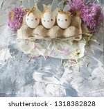 easter decoration for home ... | Shutterstock . vector #1318382828