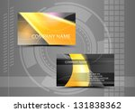 vector abstract creative... | Shutterstock .eps vector #131838362