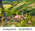 wide closeup of the parish... | Shutterstock . vector #1318398452
