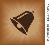 christmas bells  church bell  ... | Shutterstock .eps vector #1318472912