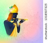 vector illustration concept of... | Shutterstock .eps vector #1318507325