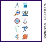 10 discovery icon. vector...   Shutterstock .eps vector #1318546478