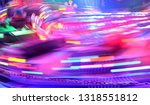 disco lights synth wave retro... | Shutterstock . vector #1318551812