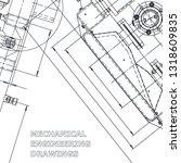 blueprint. corporate identity....   Shutterstock .eps vector #1318609835