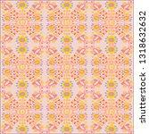 ornament pattern design. folk... | Shutterstock .eps vector #1318632632