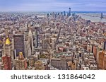 Midtown And Lower Manhattan In...
