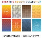 creative covers collection.... | Shutterstock .eps vector #1318641995