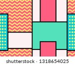 geometric seamless pattern in... | Shutterstock .eps vector #1318654025