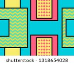 geometric seamless pattern in... | Shutterstock .eps vector #1318654028
