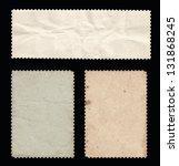 Set Of Old Stamps  Back Side....