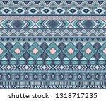 navajo american indian pattern... | Shutterstock .eps vector #1318717235