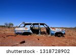 An Abandoned Wrecked Car With...