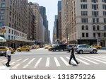 new york city   july 12  sixth... | Shutterstock . vector #131875226