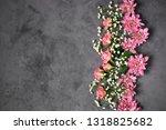 assorted fresh flowers... | Shutterstock . vector #1318825682