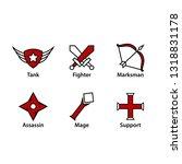 moba icon set