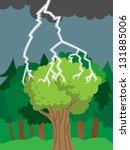 Thunder Bolt Or Lightning Hits...