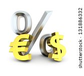Euro  Dollar And Percentage...