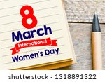 women's day card or background   Shutterstock . vector #1318891322