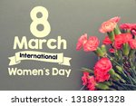 women's day card or background   Shutterstock . vector #1318891328