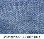 blue woolen woven fabric... | Shutterstock . vector #1318941815
